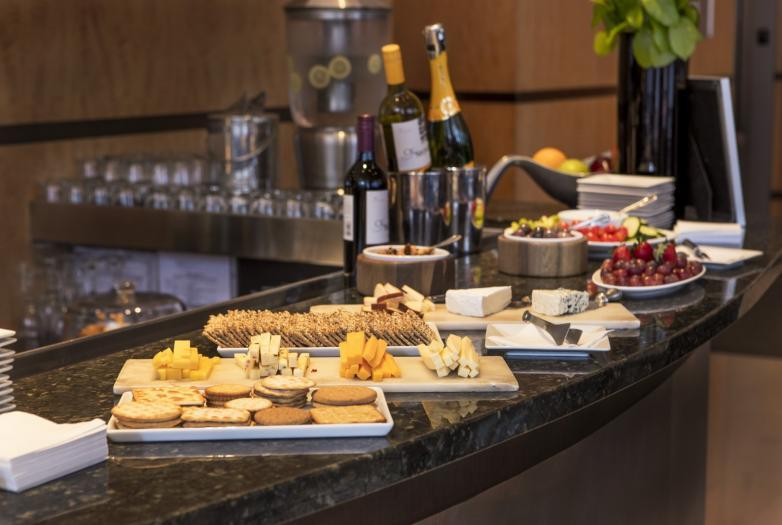 In NYC, only Library Hotel Collection properties offer a complimentary 3-hour wine and cheese receptions every evening