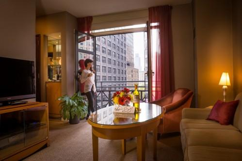 Our Balcony King Suite boasts charming views of Park Avenue South from its own private Juliet Balcony.