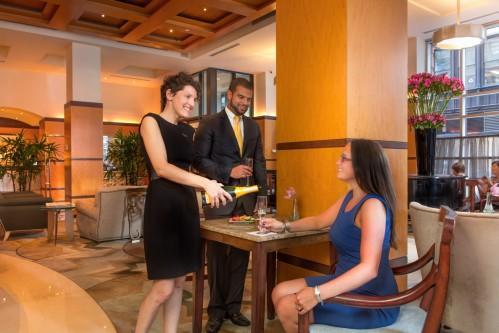 Stop down and visit Gabriela from 5 pm - 8 pm at our 3 hour long Wine & Cheese Reception every evening!