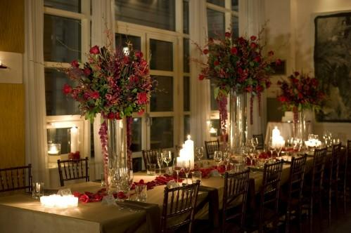 Tablescape at Hotel Giraffe. Photo courtesy of Lily Kesselmann Photography