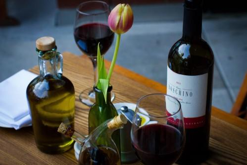 A selection of Italian Wines are  available at Bread & Tulips!
