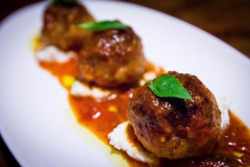 Delicious Meatballs at Bread & Tulips!