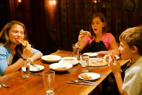 Traveling with Kids? Look no further than Bread & Tulips, they have a delicious meal for everyone!