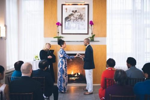 Penthouse 1202 is perfect for small elopement ceremonies. Our Director of Meetings and events can work with you to pick the best layout for your day!